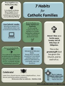 7 habits for catholic families