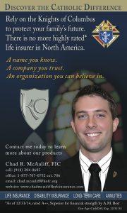 Chad McAuliff ad