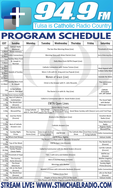 Program Schedule Feb21